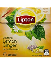 Lipton Lemon Ginger Tea, 20ct