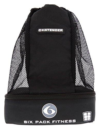 6 Pack Fitness Contender Backpack Stealth Black