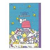 Sun-Star Stationery B5 Free Notebook [Snoopy] (Japan Import)
