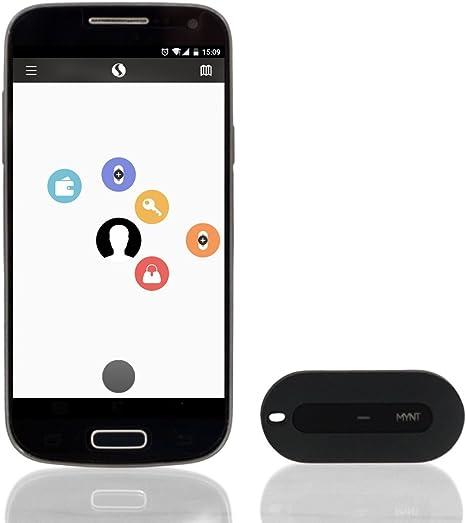 Bluetooth Key Schlüssel GPS Geldbeutel Pet Kid Phone Tracker Alarm Schwarz