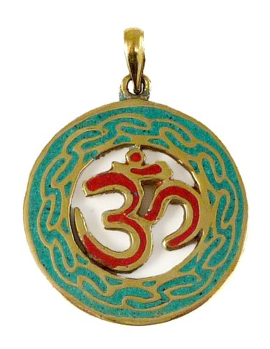 Om Keychain Charm Made in Nepal