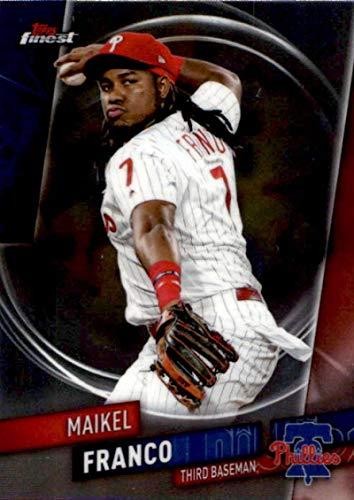 Phillies Mlb Trading Card - 2019 Finest #17 Maikel Franco Philadelphia Phillies MLB Baseball Trading Card