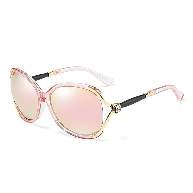 Wkaijc Polarisiert Damen Mode Sonnenbrille Stilvoll Bequem Retro Persönlichkeit Sonnenbrillen ,C