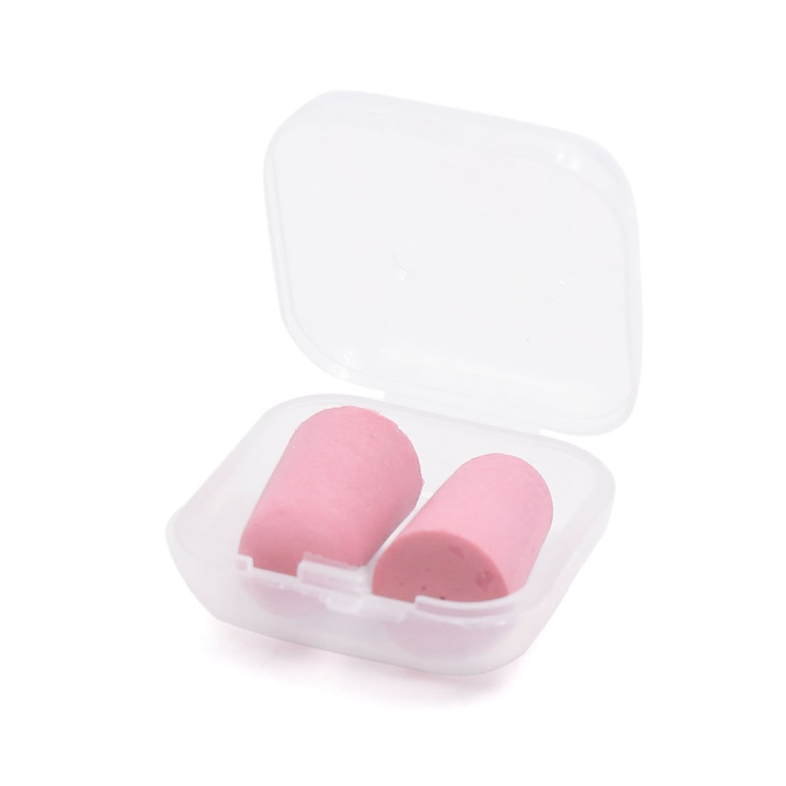 uxcell® 1 Pair Pink Disposable Foam Noise Reduction Soft Snore Sleep Earplugs Ear Plug Hearing Protector by uxcell (Image #2)