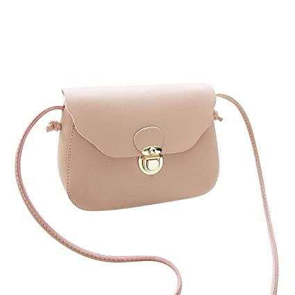 8c6f367315 Women Girl Leather Crossbody Bag Simple Shoulder Bag Solid Color Clutch  Handbag Bag Clearance Tassel Messenger