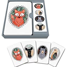 Studio Oh! Notecard Set, Woodland Creatures, Box of 12