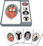 Studio Oh! Notecard Set, Woodland Creatures, Box of 12