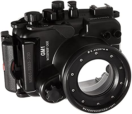 Polaroid Carcasa sumergible impermeable de cámara SLR apta para ...
