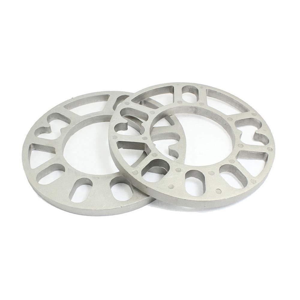 12 mm de grosor universal Separadores de ruedas 2 piezas de aleaci/ón de aluminio 4 y 5 leng/üetas 3 5 10 Separador Ruedas del Veh/ículo 8