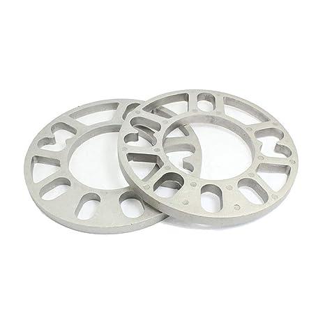 Separador Ruedas del Vehículo, 2 piezas de aleación de aluminio 4 y 5 lengüetas 3