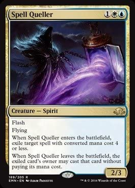 Amazon.com: Magic The Gathering - Spell Queller (189/205 ...