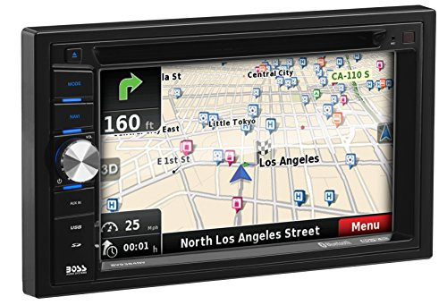 BOSS Audio BV9384NV Double Din, Touchscreen, Bluetooth, Navigation/GPS, DVD/CD/MP3/USB/SD AM/FM Car Stereo, 6.2 Inch Digital LCD Monitor, Wireless Remote by BOSS Audio
