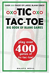 Tic-Tac-Toe (Big Book of Blank Games)