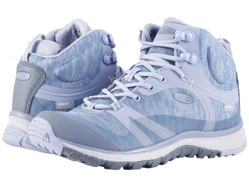 Keen(キーン) レディース 女性用 シューズ 靴 ブーツ ハイキングブーツ Terradora Mid Waterproof Dapple Grey/Vapor [並行輸入品] B07BR2N76P 5.5 B Medium