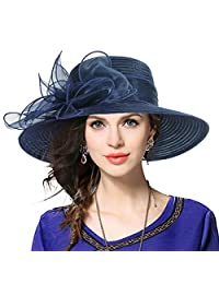 JESSE · RENA Women's Church Derby Bridal Cap British Tea Party Wedding Hat CFS052