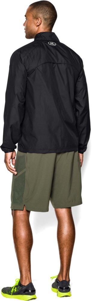 Under Armour Men's Storm Launch Run Jacket, Black (001)/Reflective, Large by Under Armour (Image #6)