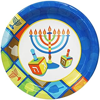 """Hanna K. Signature Collection 18 Count Paper Plate """"Illumination"""", 10-Inch (B00NL6UPF0) 