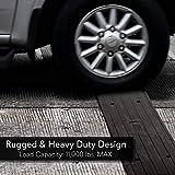 Car Driveway Curb Ramp - Heavy Duty Rubber