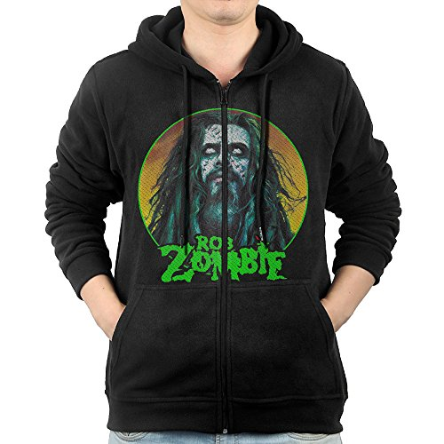 Korean National Costume For Male (GD-One Mens Rob Zombie Hip-Hop Casual Style Hoodie Hoodies Leisure Style XXL Black)