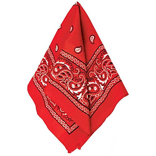 Amscan Bandana, Party Accessory, Red ()