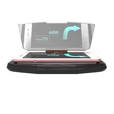 Coche HUD Head Up Display Advertencia de Velocidad soporte de navegación GPS HUD Head Up pantalla