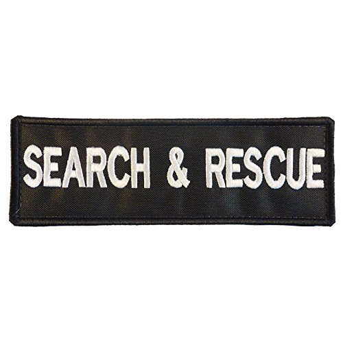 LEGEEON K9 Harness Search & Rescue Dog K-9 Nylon Touch Fastener Patch