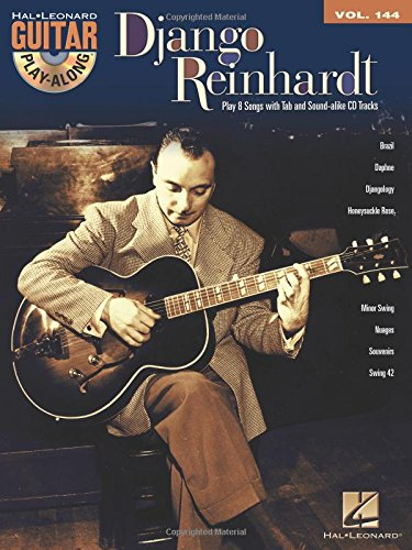 Django Reinhardt: Guitar Play-Along Volume 144