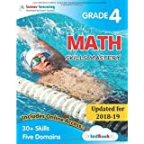 Lumos Skills Mastery tedBook - Grade 4 Math: Standards-based Mathematics practice workbook