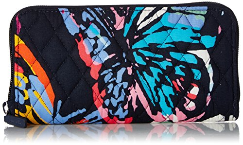 Vera Bradley Rfid Georgia Wallet, Signature Cotton, Butterfly Flutter by Vera Bradley