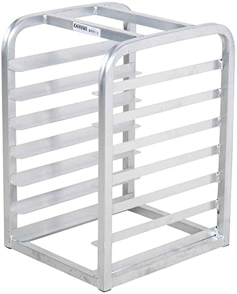 Amazon Com Channel Manufacturing Tt307 Countertop Bun Pan Rack 7 Half Sheet Rack Assembled Home Kitchen