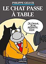 Le Chat, tome 19 : Le Chat passe à table (Coffret 2 volumes) par Philippe Geluck