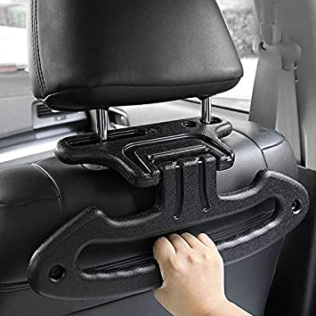 Car Clothes Holder Headrest Car Coat Hanger Multifunction Travel