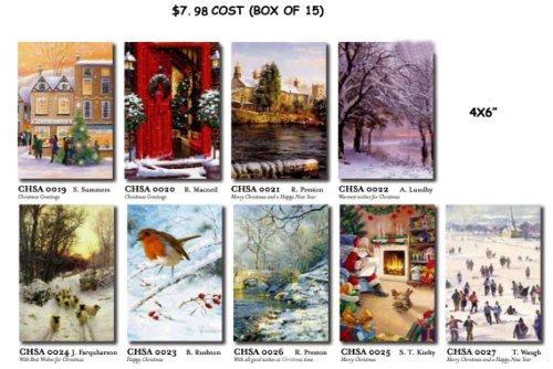 Medici 15 ASSORTED MUSEUM CHRISTMAS CARDS
