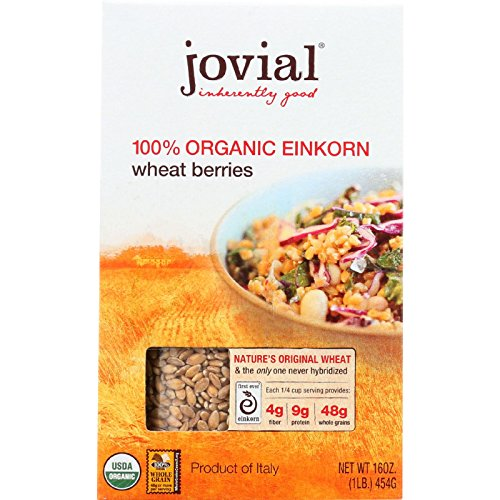 Jovial Wheat Berries - Organic - Einkorn - 16 oz - case of 12 by Jovial
