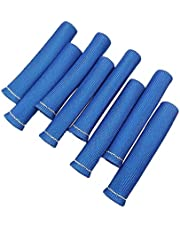 labwork-parts Blue 1200° Spark Plug Wire Boots Heat Shield Protector Sleeve for SBC BBC