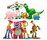 Toy Story Full Collection: Sheriff Woody,Buzz Lightyear,Jessie,Lotso,Hamm,Rex,Slinky Dog,Mr.Potato Head Doll Action Figures Play Set