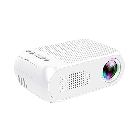 ❤ Mini proyector Multifuncional YG320 1080P HD LED Mini Cine casa ...