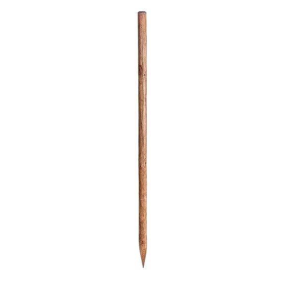 Haga Holzpfahl Baumpfahl Pfahl Zaunpfahl 6cmo X 175cm Hohe Aus
