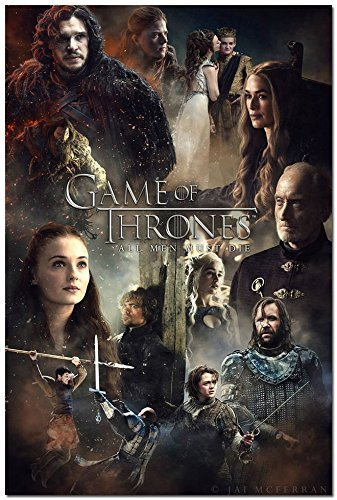 Tomorrow sunny Game Of Thrones TV Shows Silk Poster ALL MEN