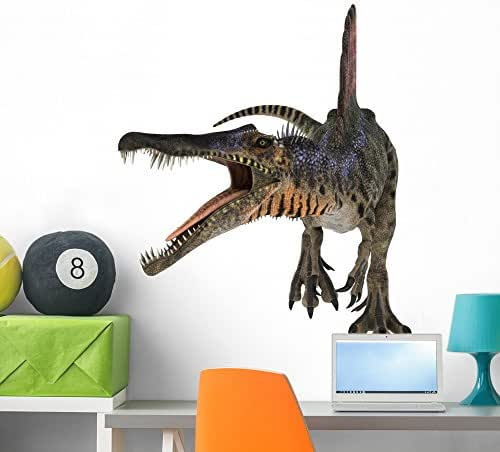 Wallmonkeys Dinosaur Spinosaurus Wall Decal Peel and Stick Graphic WM279987 (36 in H x 36 in W)