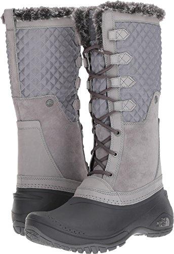The North Face Women's Shellista III Tall Frost Grey/Iron Gate Grey (Past Season) 10 B US