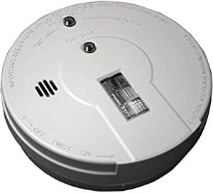 Kidde - 21026052 Battery Operated Smoke Detector Alarm with Safety Light | Model i9080