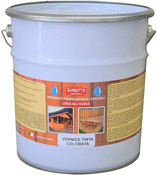 Tinte al agua para madera para interiores de 1 a 5 litros, 1 ...