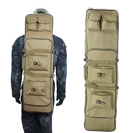 4c201bfa32b2 AVSUPPLY 48 Inch Tactical Waterproof Double Rifle Storage Case ...