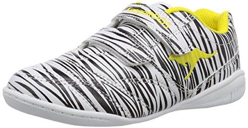KangaROOS KangaCourt 3020 S Unisex-Kinder Sneakers Mehrfarbig (animal 592)