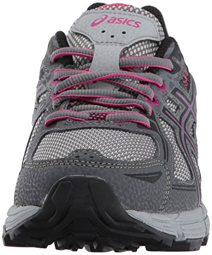 ASICS Women's Gel-Venture 6 Running-Shoes,Carbon/Black/Pink Peacock,9 Medium US by ASICS (Image #4)