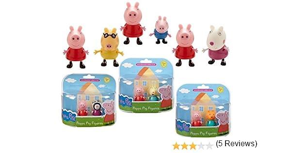 Peppa Pig - Figura de acción, Surtido, 1 unidad: Amazon.es: Juguetes y juegos