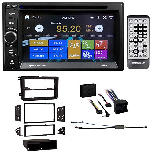 6.2'' DVD/iPhone/Bluetooth/Android/USB Receiver For 2008-2011 Volkswagen Gli VW