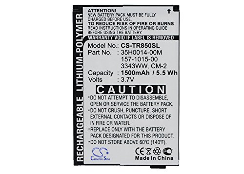 - Cameron Sino 1500mAh / 5.55Wh Replacement Battery for Palm Treo Pro