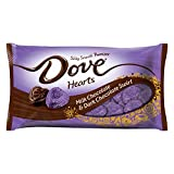 DOVE PROMISES Valentine Hearts Milk & Dark Chocolate Swirl Candy 7.94-Ounce Bag